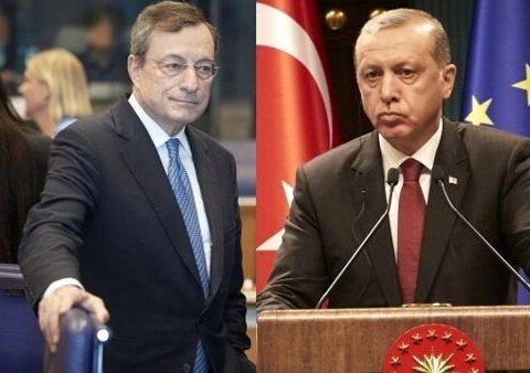 Libia - Draghi - Erdogan