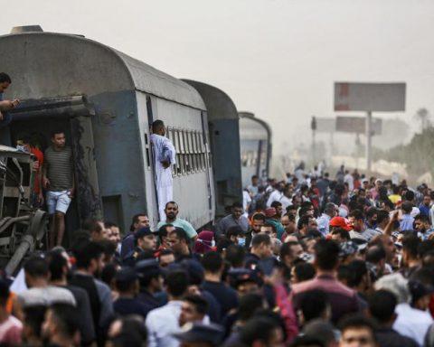 egitto - incidente ferroviario