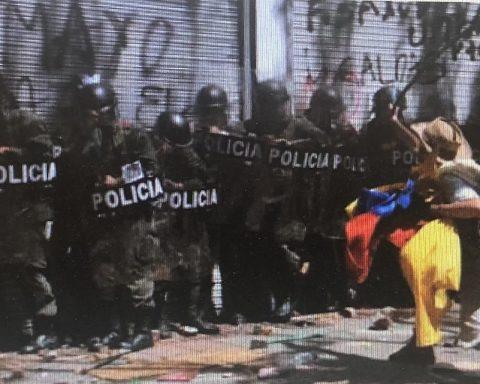 colombia - manifestazione