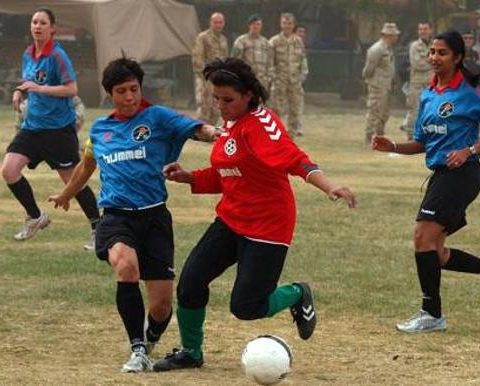 afghanistan squadra femminile